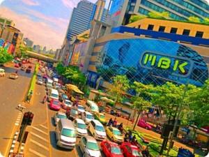 קניון ה MBK בנגקוק