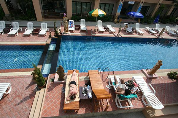 מלון סנרייז ריזורט זריחת השמש SUNRISE RESORT KOH PHANGAN